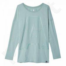Marškinėliai Adidas A-letter LS W AY5014