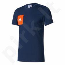 Marškinėliai futbolui adidas Tiro 17 Tee M BQ2663