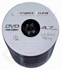 DVD-R ESPERANZA [ spindle 100 | 4.7GB | 16x ]