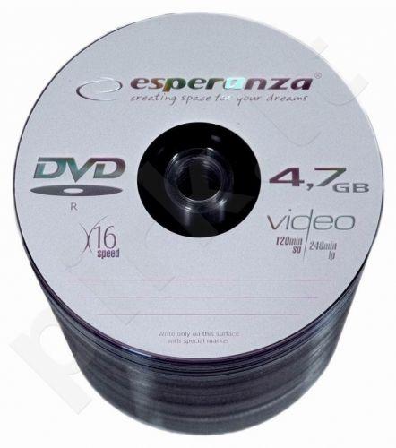 DVD-R ESPERANZA [ spindle 100 | 4.7GB | 16x ]