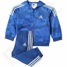 Sportinis kostiumas  Adidas I Style Shinny Full Zipp Hoodie Junior AJ7360