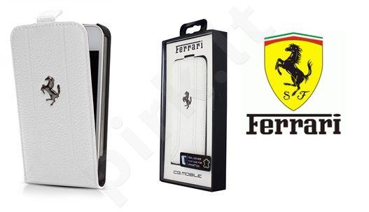 Apple iPhone 5 dėklas book Ferrari raudonas