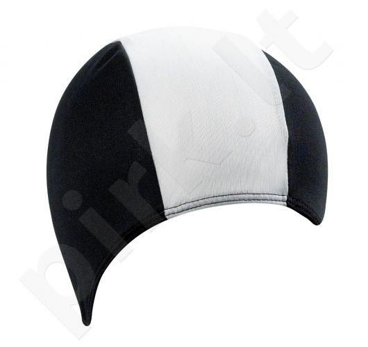 Kepuraitė plaukimui vyrams PE 7723 01 black/white