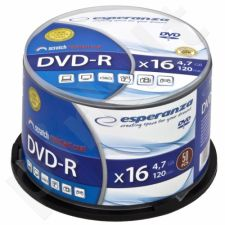 DVD-R ESPERANZA [ cake box 50 | 4.7GB | 16x ]