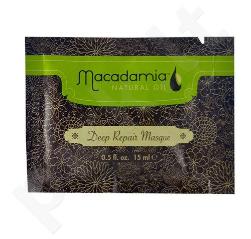Macadamia Deep Repair Masque Revitalizing Hair, kosmetika moterims, 30ml