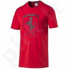 Marškinėliai Puma Ferrari Big Shield Tee M 57068102