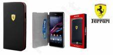 Samsung Galaxy S4 dėklas book Ferrari juodas