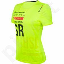 Marškinėliai bėgimui  Reebok One Series Running Short Sleeve Tee W AX8932