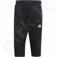 Sportinės kelnės futbolininkams Adidas Tiro 19 3/4 Pant M D95948
