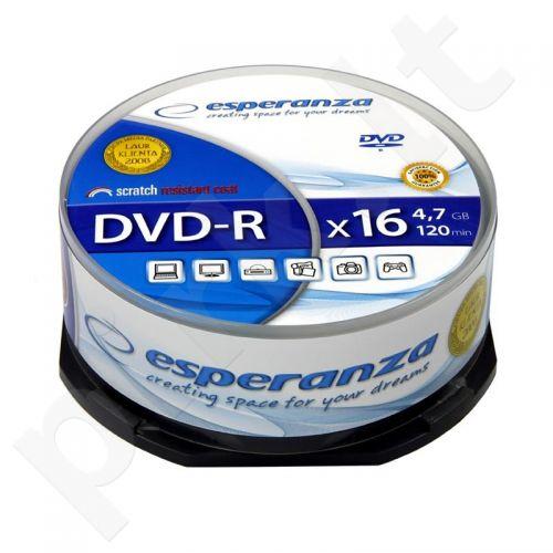 DVD-R ESPERANZA [ cake box 25 | 4.7GB | 16x ]