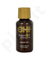 Farouk Systems CHI Argan Oil, Plus Moringa Oil, plaukų aliejus ir serumas moterims, 15ml