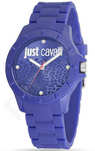 Laikrodis JUST CAVALLI JUYCE moteriškas kvarcinis Silicone strap. . WR 3ATM