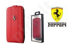 Samsung Galaxy S4 dėklas book Ferrari raudonas