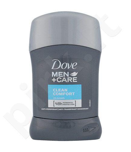 Dove Men + Care Clean Comfort 48h pieštukinis dezodorantas, kosmetika vyrams, 50ml