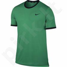 Marškinėliai tenisui Nike Court Dry Top Team M 830927-324