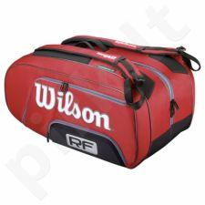 Krepšys tenisui Wilson Federer Elite Bag 12 Pack WRZ830512