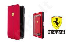 Samsung Galaxy S5 dėklas book Ferrari raudonas