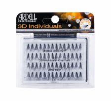 Ardell 3D Individuals, Duralash Knot-Free, dirbtinės blakstienos moterims, 56pc, (Long Black)