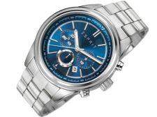 Esprit ES107541005 Ray Silver Blue vyriškas laikrodis-chronometras
