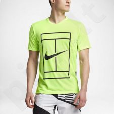 Marškinėliai tenisui Nike Court Dry Top Baseline M 848388-367