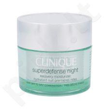 Clinique Superdefense Naktinis atkūriamasis drėkinamasis  kremas sausai odai, kosmetika moterims, 50ml