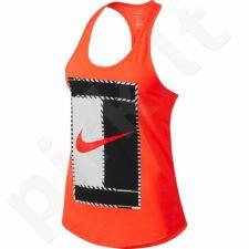 Marškinėliai tenisui Nike Dry Tank Logo W 831474-877