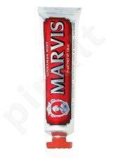 Marvis Cinnamon Mint, dantų pasta moterims ir vyrams, 25ml