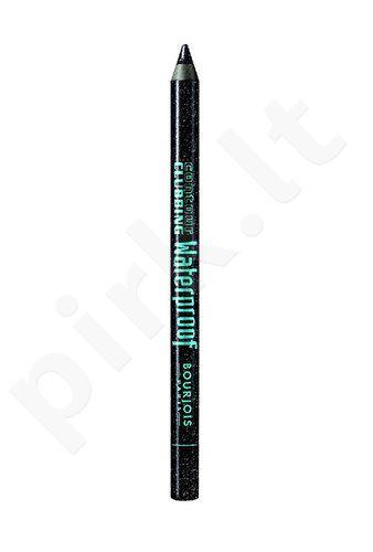 BOURJOIS Paris Contour Clubbing atsparus vandeniui akių kontūrų pieštukas, kosmetika moterims, 1,2g, (46 Bleu Néon)