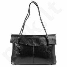 DAN-A T49 juoda rankinė iš natūralios odos , moteriška