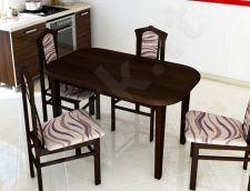 Stalas (S92) + 4 kėdės (K70)