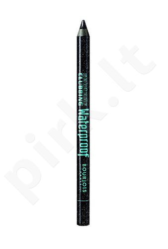 BOURJOIS Paris Contour Clubbing atsparus vandeniui akių kontūrų pieštukas, kosmetika moterims, 1,2g, (50 Loving Green)