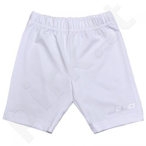 Apatiniai šortai COLO Under Junior baltas