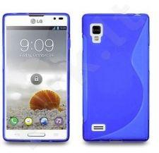 LG L9 dėklas SILICON Telemax mėlynas