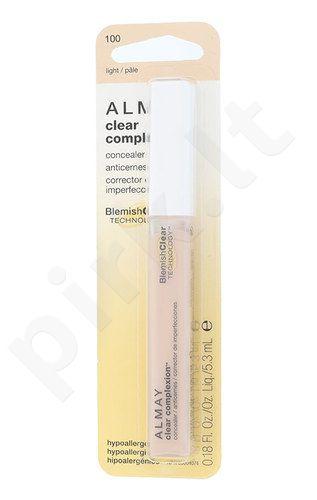 Almay Clear Complexion Veido Maskuoklis, kosmetika moterims, 5,3ml, (100 Light)