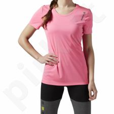 Marškinėliai bėgimui  Reebok Running Essentials Short Sleeve W AX9499