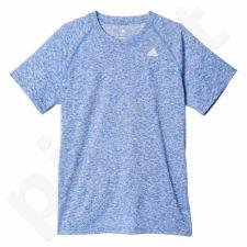 Marškinėliai treniruotėms Adidas Base Heather Tee M AY7296