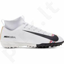 Futbolo bateliai  Nike Mercurial Superfly X 6 Academy TF JR AJ3112-109