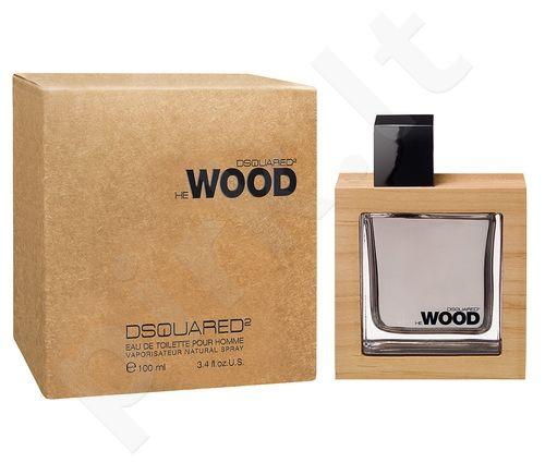 Dsquared2 He Wood, tualetinis vanduo vyrams, 100ml