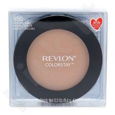 Revlon Colorstay presuota kompaktinė veido pudra, kosmetika moterims, 8,4g, (850 Medium/Deep)