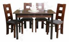 Stalas (S43)+ 4 kėdės (KT)