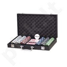 Pokerio žetonų rinkinys 300 SUIT su vertėmis