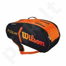 Krepšys tenisui Wilson Burn Molded Bag 9 Pack WRZ841509