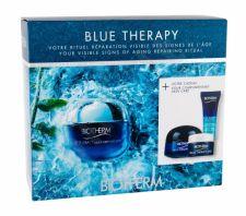 Biotherm Multi-Defender, Blue Therapy, rinkinys dieninis kremas moterims, (Daily Skin Care SPF25 50 ml + Night Skin Care 15 ml + Skin serumas 10 ml + Eye Care 5 ml)