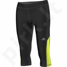 Sportinės kelnės 3/4 Adidas Infinite Series Techfit Capri W S30053