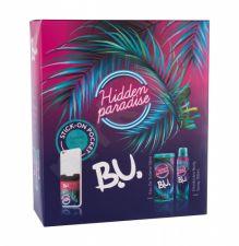 B.U. Hidden Paradise, rinkinys tualetinis vanduo moterims, (EDT 50 ml + dezodorantas 150 ml + Phone Sticker 1 pc)