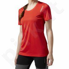 Marškinėliai bėgimui  Reebok Running Essentials Short Sleeve W S94325