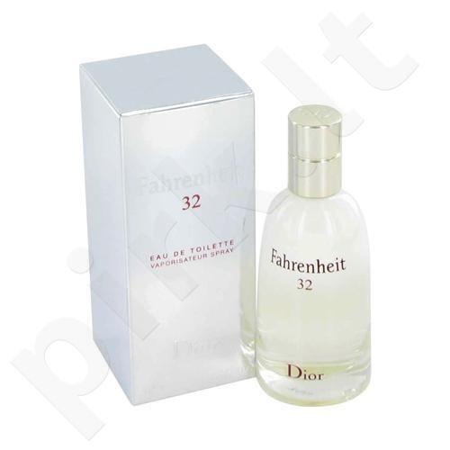 Christian Dior Fahrenheit 32, tualetinis vanduo (EDT) vyrams, 50 ml