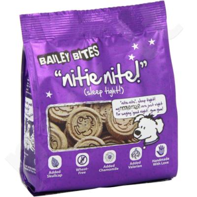 Skanestai šunims Bailey Bites NITE NITES 200gr