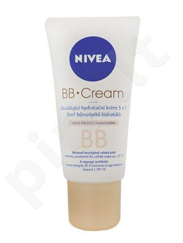 Nivea BB kremas 5in1 Beautifying Moisturizer, kosmetika moterims, 50ml, (Light)