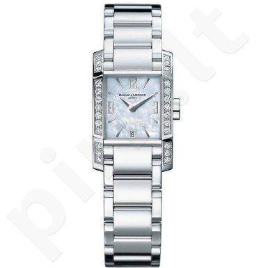 Moteriškas kvarcinis laikrodis BAUME & MERCIER DIAMANT 22mm